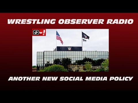 The latest bizarre WWE social media policy: Wrestling Observer Radio