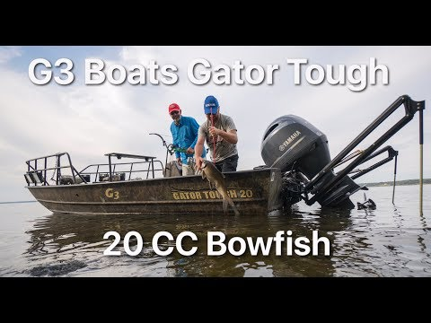 In Action with the G3 Gator Tough 20CC Bowfish