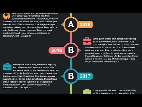 How To Create Vertical Timeline|| Website Timeline Html 5 Css 3
