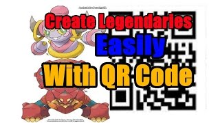 How to Create/Pokegen with a QR code in Pokemon Omega Ruby and Alpha Sapphire