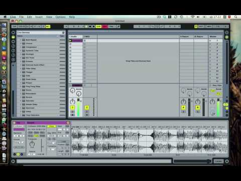 Lesson 004: Ableton Live warping in under 60 seconds