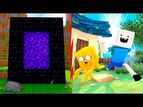 Minecraft: PORTAL PARA HORA DE AVENTURA ‹ AMENIC ›