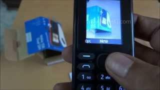Nokia 108 Dual Sim Unboxing