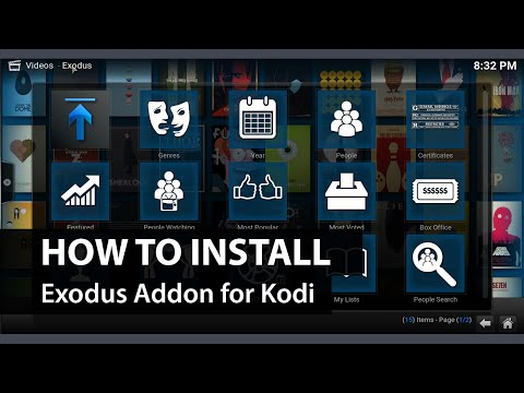 Exodus Add-on Kodi XBMC: How to Install Exodus on Kodi XBMC
