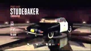 L.A. Noire Hidden Vehicles: Sports - Studebaker Commander - Crime Scenes