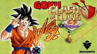 Clash Of Souls [COC Modded Server] - Goku Destroys Clash Of Clans