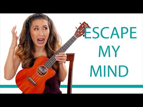 Escape My Mind by Grace VanderWaal - Easy Ukulele Tutorial and Play Along