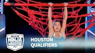 Kacy Catanzaro at 2015 Houston Qualifiers | American Ninja Warrior