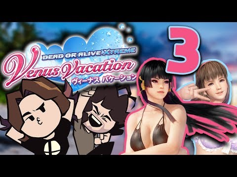 Dead or Alive Venus Vacation: Spike It! - PART 3 - Game Grumps