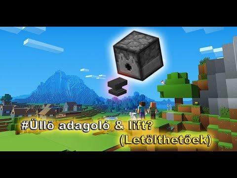 Minecraft 1.12.1 #Üllő adagoló & lift? (Letölthetőek)