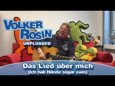 Das Lied über mich - Volker Rosin UNPLUGGED | Kinderlieder