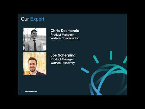 Building with Watson: How to build a chatbot with Assistant and Discovery