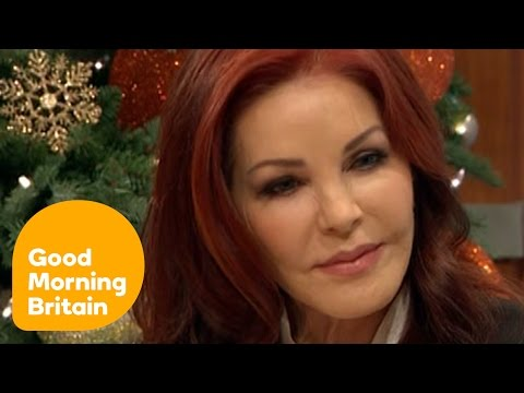 Priscilla Presley Talks About Elvis Being Back In The Charts | Good Morning Britain