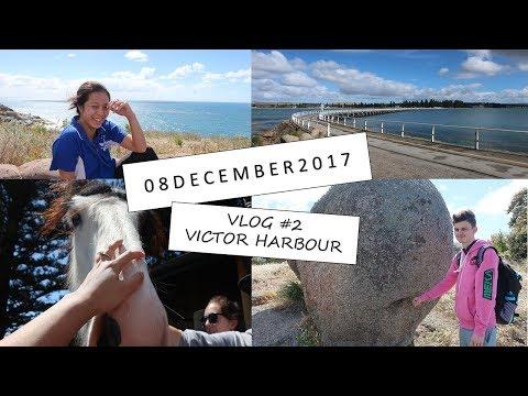 Victor Harbour! Granite Island, Vlog #2 || C1Quachy