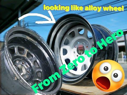 How To Make Your Steelies Wheel Looks Awesome #steelies #polish #diamondracing