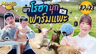 Mango Diary Ep.92 | พาโรฮาไปบุกฟาร์มแพะ ที่เกาหลี🇰🇷  เจอธรรมชาติบ้าง โรฮาแฮปปี้!!
