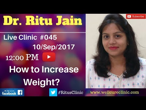 Homeopathic Medicine For Weight Gain (Capsules) - Dr.Ritu's Live Clinic#045