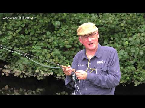 Peter Arfield With Some Fly Casting Tips On The Derbyshire Wye