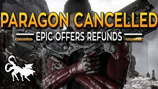 Epic Games shutting down Paragon and offering refunds to all players