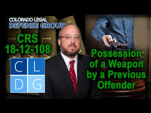Can I possess a gun in Colorado if I've been convicted of a felony?