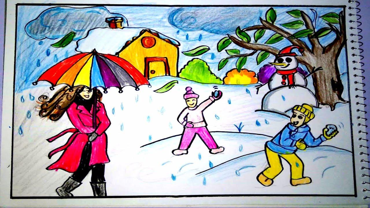 أخبار الاستثمار ملحن لوحات فنية عن فصل الشتاء Dsvdedommel Com