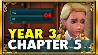 THE MOST HEARTBREAKING MOMENT YET! YES OR NO?!?! - YEAR3 CHAPTER 5 - HOGWARTS MYSTERY
