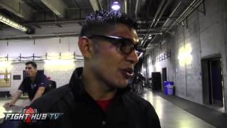 Antonio Orozco talks judges scores in win over Humberto Soto