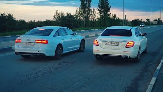 Ауди Издевается Над Мерседесами.  Audi A6 Vs Mercedes E-Class Vs Mercedes Gle