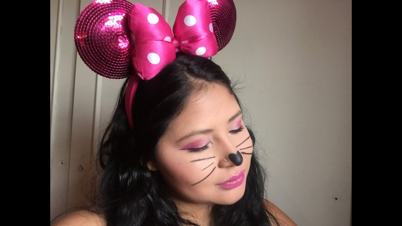 Maquillaje Minnie Mouse Youtube