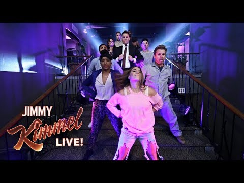 Guest Host Channing Tatum Dances His Way onto Kimmel