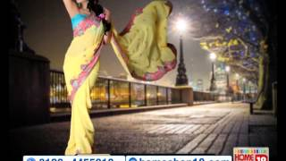 HomeShop18.com - Stunning Partywear Designer Saree by Aanya