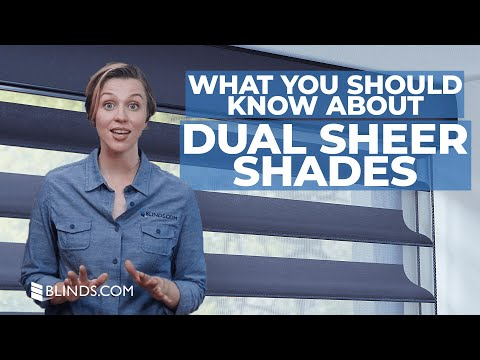 Custom Dual Sheer Shades | Blinds.com™