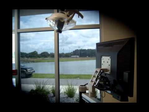 Window Graphics Tint Shop Panama City FL GCCC job