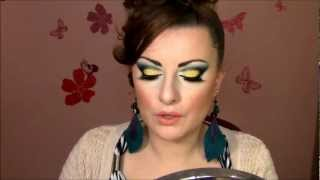 Spring Makeup Tutorial: Blue Green Yellow Cut The Crease Thumbnail