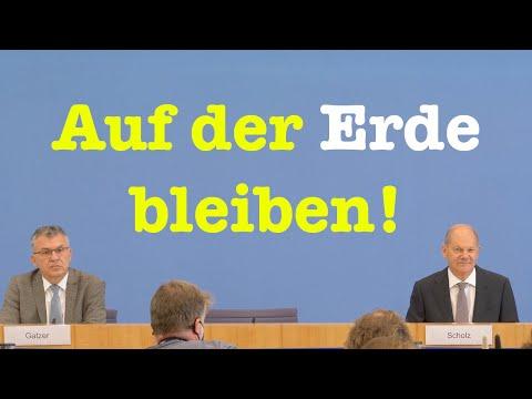 Finanzminister Olaf Scholz (SPD) über den Bundeshaushalt 2021 | BPK 23. September 2020