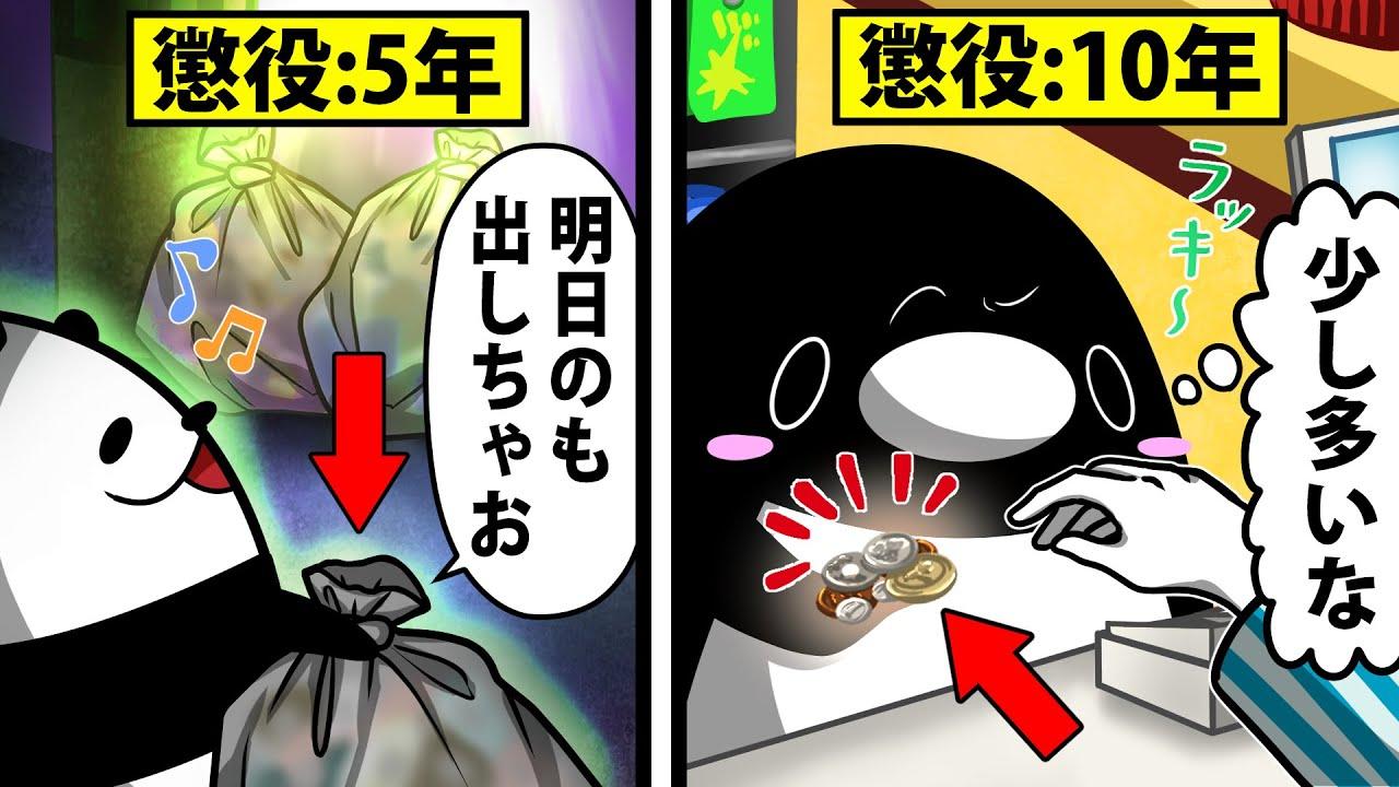 【アニメ】日常で気が付かずにやっている犯罪6選