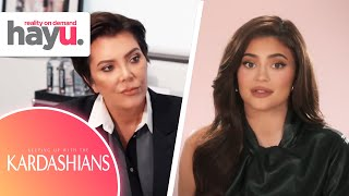 Kylie Talks To Kris About Fight With Kendall | Season 19 | Keeping Up With The Kardashians