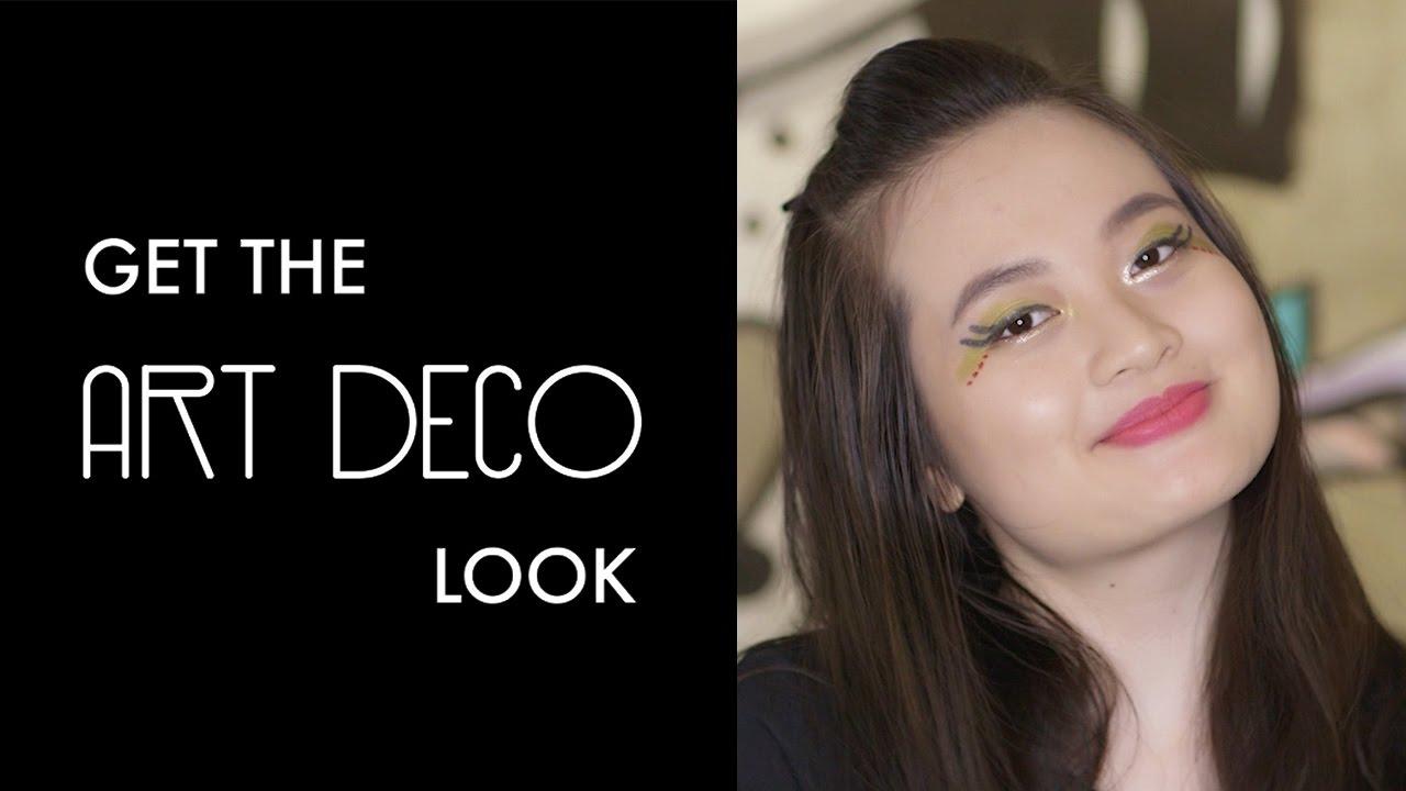 Art Deco Look calyxta cuts: how to get the art deco look - youtube