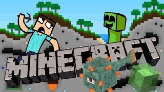 Minecraft - 1.8 Päivitys! LIMAPALIKKA! UUSI MERIDUNGEON!