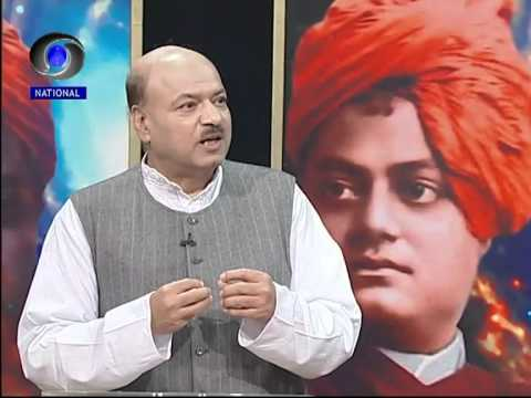 Shri Dinesh kumar on Swami vivekananda at national doordarshan