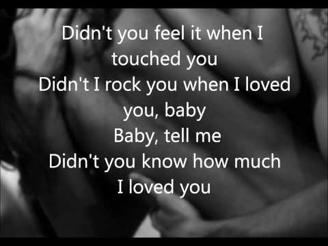 Didnt You Know How Much I Loved You Lyrics Kellie Pickler