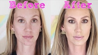 Makeup Makeover for Brown-Eyed Blonde