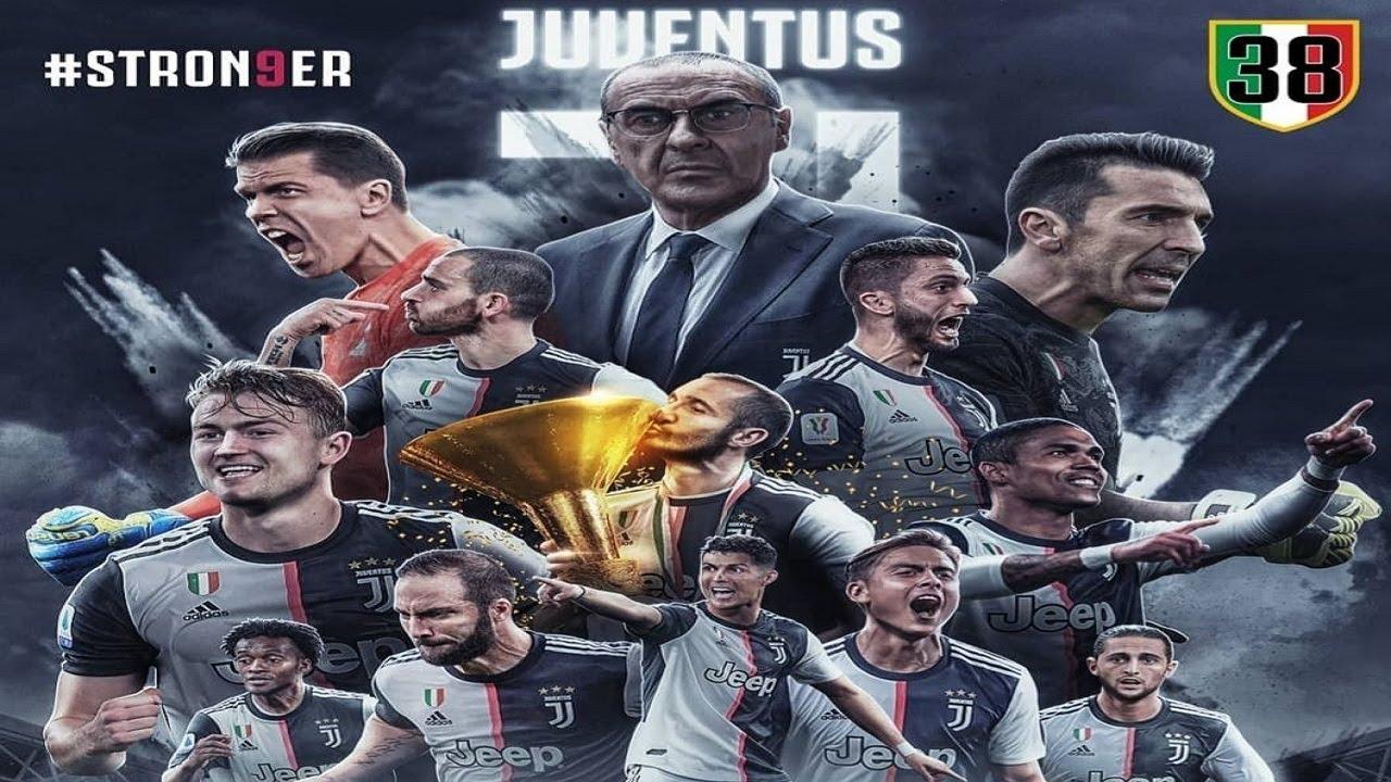38 VOLTE JUVENTUS!!! CAMPIONI D'ITALIA 2020!!! #STRON9ER ...