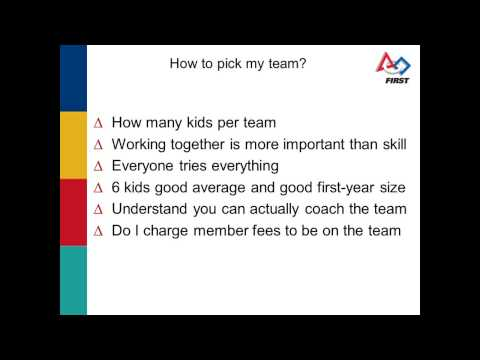 FIRST LEGO League Ask an Expert: New Coach Orientation - Part 1 - Presentation