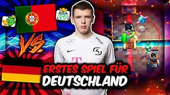 DEUTSCHLANDS ERSTES WM-SPIEL vs. PORTUGAL! | Gelingt uns der Auftakt? | Clash Royale Deutsch
