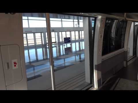 Sky Train Ride from Terminal 3 to Terminal 4 Phoenix Sky Harbor Airport Phoenix, AZ