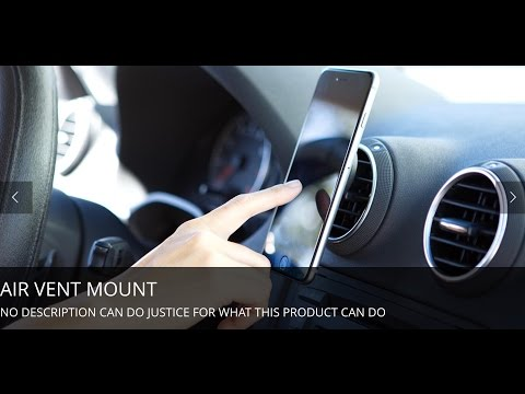 BEST UBER Phone Mount - AirMount by InfiniApps