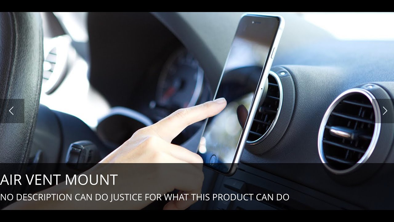 Best Uber Phone Mount Airmount By Infiniapps Youtube