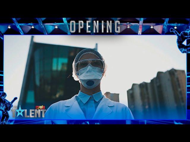 El HOMENAJE a los que han sufrido la pandemia de la COVID-19 | Openings | Got Talent España 2021