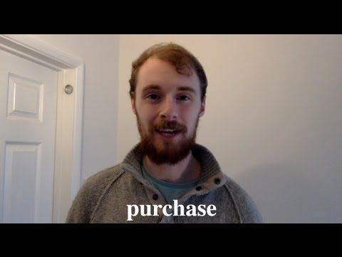 Download How To Pronounce 'Purchase' in Standard British English: Word Of The Day #25